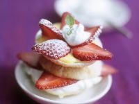 Mini Strawberry and Vanilla Tarts recipe