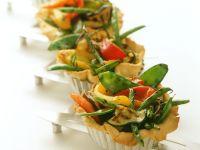 Mini Veggie Tarts recipe