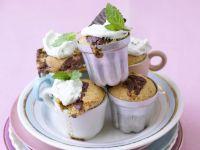 Mint Chocolate Cakes recipe