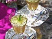 Mint Gelatin with Lime recipe