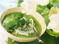 Minted Pea Soup recipe