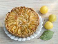 Mirabelle Plum Tart with Almond Cream recipe