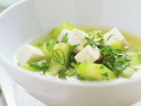 Miso Broth with Tofu recipe