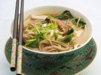 Miso Soup with Soba Noodles recipe