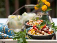 Mixed Bean and Feta Salad recipe