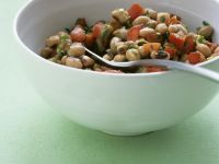 Mixed Bean and Tomato Salad recipe