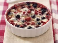 Mixed Berry and Soft Cheese Pudding recipe