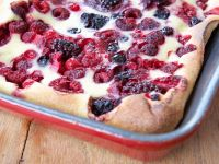 Mixed Berry Batter Pudding recipe