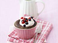 Mixed Berry Chocolate Cakes recipe