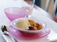 Mixed Berry Crumble recipe