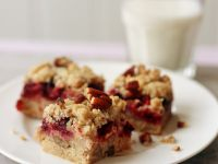Mixed Berry Crumble Squares recipe
