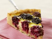 Mixed Berry Tart Slice recipe