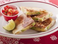 Mixed Cheese and Avocado Quesadillas recipe
