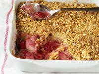 Mixed Fruit Crumble Pie recipe
