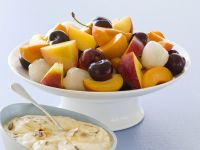 Mixed Fruit with Honey, Nuts and Yogurt recipe