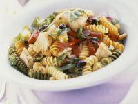 Mixed Fusilli Pasta Salad recipe