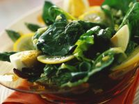 Mixed Green Salad with Asparagus recipe