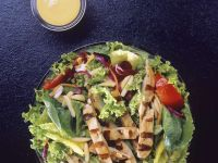 Mixed Green Salad with Chicken Breast recipe