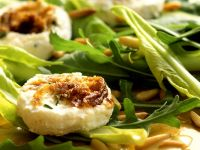 Mixed Green Salad with Goat Cheese recipe