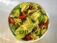 Mixed Green Salad with Gouda recipe