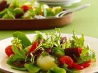 Mixed Green Salad with Vegetables recipe