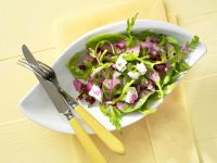Mixed Greens Salad with Beet and Feta recipe
