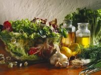 Mixed Greens Salad with Herb Vinaigrette recipe