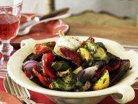 Mixed Grilled Mediterranean Vegetables recipe