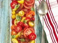 Mixed Heirloom Tomato Salad recipe