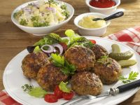 Mixed Meat Patties recipe