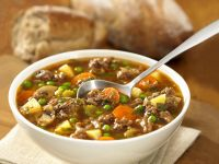 Mixed Mince and Paprika Soup recipe