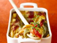 Mixed Pepper Gratin recipe