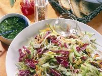 Mixed Salad with a Rich Dressing recipe