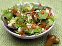 Soft Fruit and Apple Salad Bowl recipe