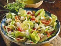Mixed Salad with Cheese recipe