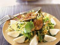 Mixed Salad with Figs and Mozzarella recipe