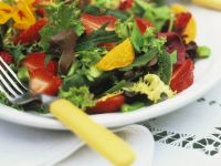 Mixed Salad with Fruit recipe