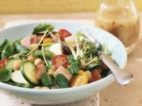 Mixed Salad with Honey Mustard Dressing recipe