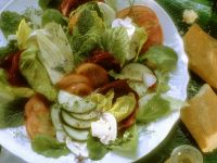 Mixed Salad with Lemon Dressing recipe