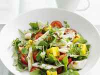 Mixed Salad with Squid and Mango recipe