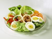 Mixed Salad with Tuna recipe