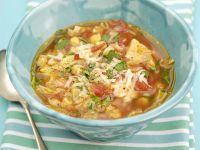 Mixed Veg and Bean Soup recipe