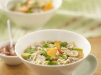 Mixed Veg and Noodle Soup recipe