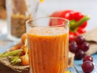 Mixed Vegetable and Grape Drink recipe