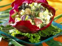 Mixed Vegetable Salad in Cabbage recipe