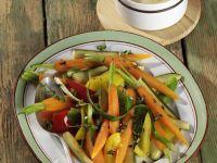 Mixed Vegetables with Creamy Polenta recipe