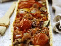 Mixed Vegetarian Pastry Tart