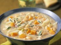 Mixed Veggie and White Bean Soup recipe