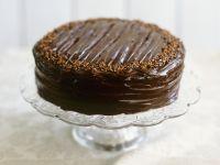 Mocha Cake with Chocolate Ganache recipe