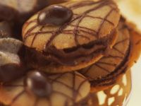 Mocha Cookies with Chocolate Drizzle recipe
